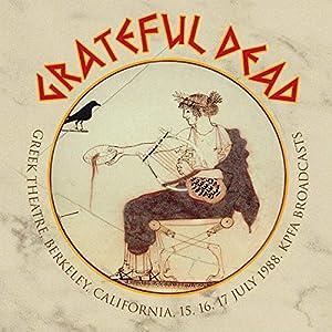 Greek Theatre, Berkeley, California, 15, 16, 17 July 1988 (6CD)