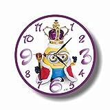 Minions 11'' 壁時計(ミニオン)あなたの友人のための最高の贈り物。あなたの家のためのオリジナルデザイン