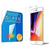 MS factory iPhone8 / iPhone7 ガラスフィルム ブルーライト カット 90% iPhone 8 7 ブルーライトカット 強化ガラス フィルム アイフォン8 アイフォン7 保護フィルム 3D Touch 対応 90日 保証 FD-IP7-BLUE-AB