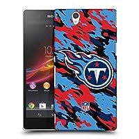 オフィシャル NFL カモフラージュ テネシー・タイタンズ ロゴ ハードバックケース Sony Xperia Z / C6603 / C6602