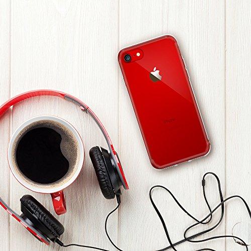 『【Ringke】iPhone 8 / iPhone 7 ケース 対応 コスパ最高 クリア 透明 落下防止 ストラップホール スマホケース [米軍MIL規格取得] TPU PC 二重構造 吸収耐衝撃カバー Qi充電対応 Fusion (Clear/クリア)』の2枚目の画像