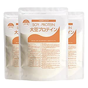 nichie 大豆プロテイン アメリカ産 プレーン味 3kg(1kg×3袋)