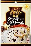 味覚糖   特濃ミルク8.2 クッキー&クリーム  84G×6袋