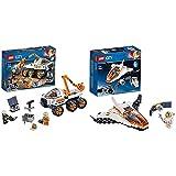 レゴ(LEGO) シティ 進め! 火星探査車 60225 ブロック おもちゃ 男の子 &  シティ 人口衛星を追うジェット機 60224 ブロック おもちゃ 男の子【セット買い】