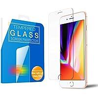 MS factory iPhone8/iPhone7 ガラスフィルム ブルーライト カット 90% iPhone 8 7 ブルーライトカット 強化ガラス フィルム アイフォン8 アイフォン7 保護フィルム 3D Touch 対応 90日 保証 FD-IP7-BLUE-AB