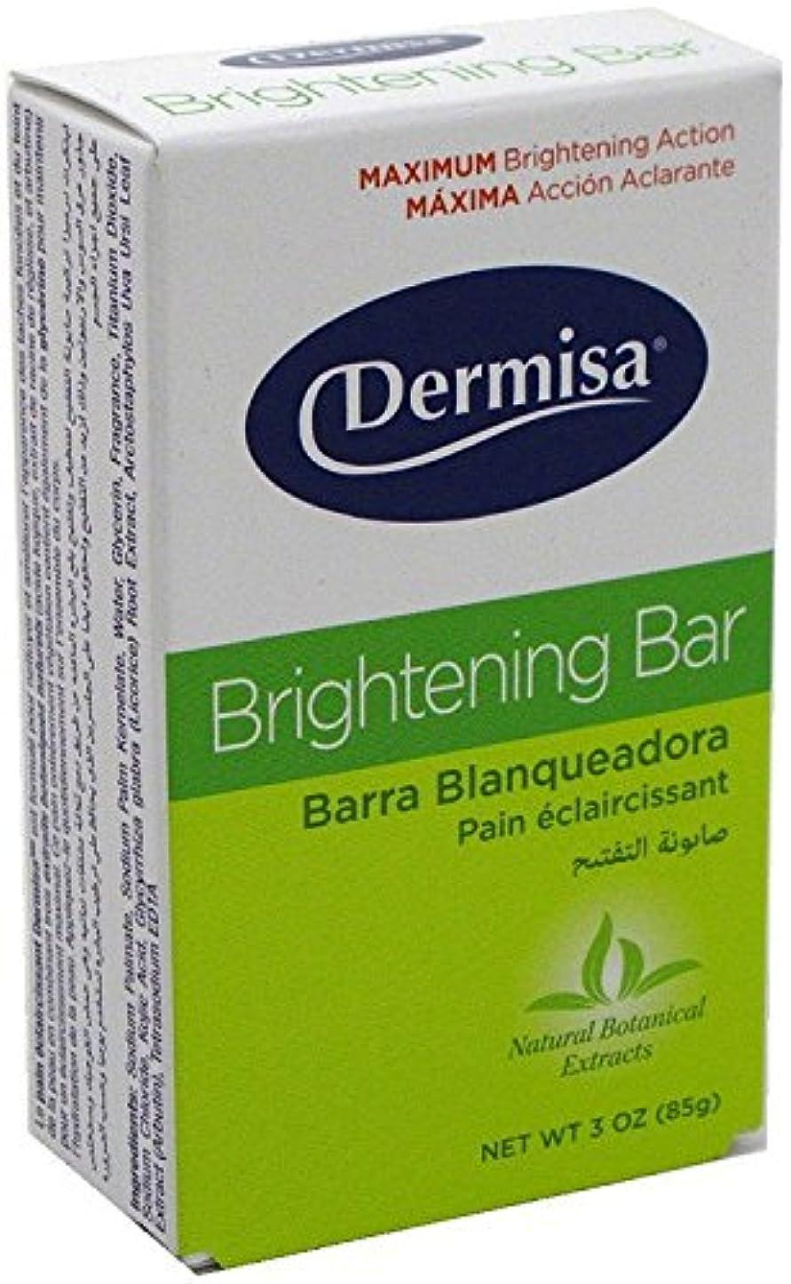 麻痺参照洗剤Dermisa ブライトニングバー3オズ(12パック) 12のパック