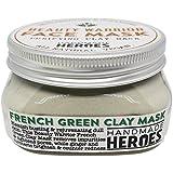 Natural Vegan Detoxifying Face Mask - Beauty Warrior Face Mask, French Green Clay.