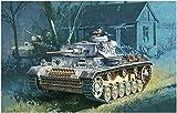 ドラゴン 1/72 第二次世界大戦 ドイツ軍 III号戦車M型 w/防水マフラー プラモデル DR7290