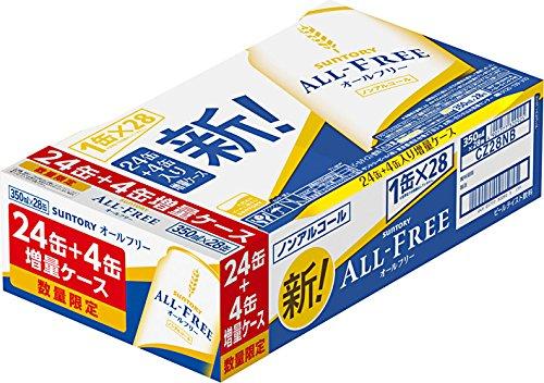 【4本増量】 サントリー オールフリー 増量 [ ノンアルコ...
