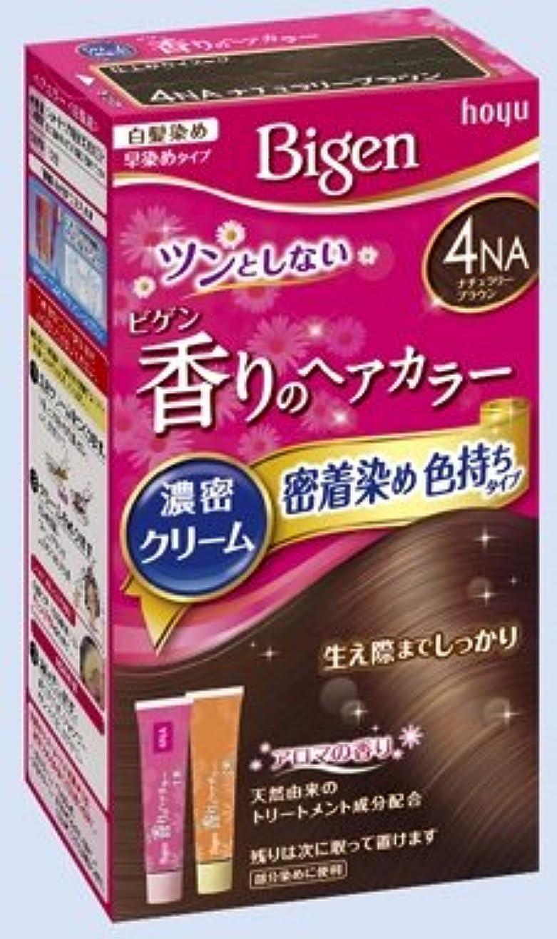 天才はいあさりビゲン 香りのヘアカラー クリーム 4NA ナチュラリーブラウン × 27個セット