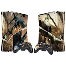 Pacers Ace Combat 6 Protector Skin Decal Sticker for Xbox 360 Slim (1 piece for the game console & 2 pieces for 2 controllers) by Pacers [並行輸入品]