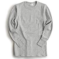 JEMORGAN ジェーイーモーガン J7003-526 THERMAL L/S CREW REGULAR FIT(L (14)HEATHER GRAY)