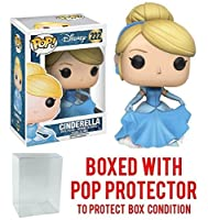 Funko Pop Disney: Cinderella - Cinderella 222 Vinyl Figure (Bundled with Pop BOX PROTECTOR CASE)