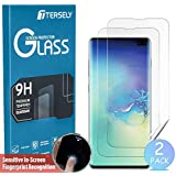 TERSELY Screen Protector for Samsung Galaxy S10, [2 Pack] Full Coverage HYDROGEL Aqua Flex Screen Protector Flexible Full Cover Curved Soft TPU for Samsung Galaxy S10 [Support Fingerprint Unlock]