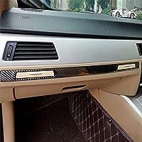 カーインテリアアクセサリー BMW E90 / E92 / E93 2005年から2012年のための偉大な三色のカーボンファイバーカー右運転中の制御装飾ステッカー (Color : Color2)