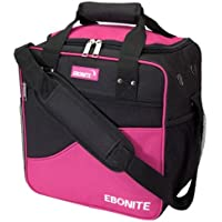 Ebonite Basic Single Bowling bag-ピンク/ブラック