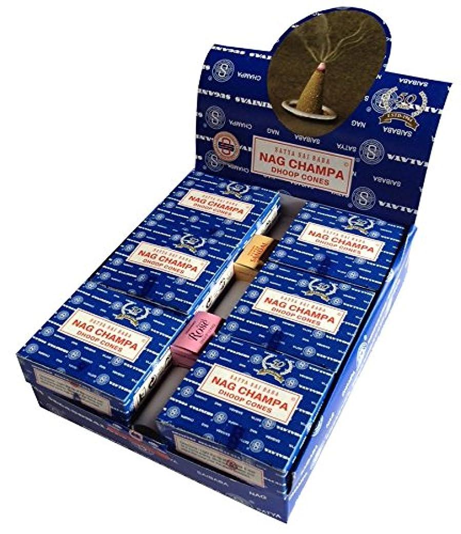 に慣れテナントうがい薬SATYA サイババナグチャンパ コーン 12個セット