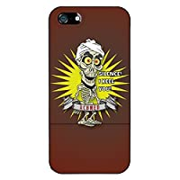 Coveroo Jeff Dunham Design on Slider Case for iPhone 5/5s - Retail Packaging - Black [並行輸入品]