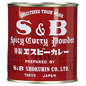 S&B カレー粉 84g