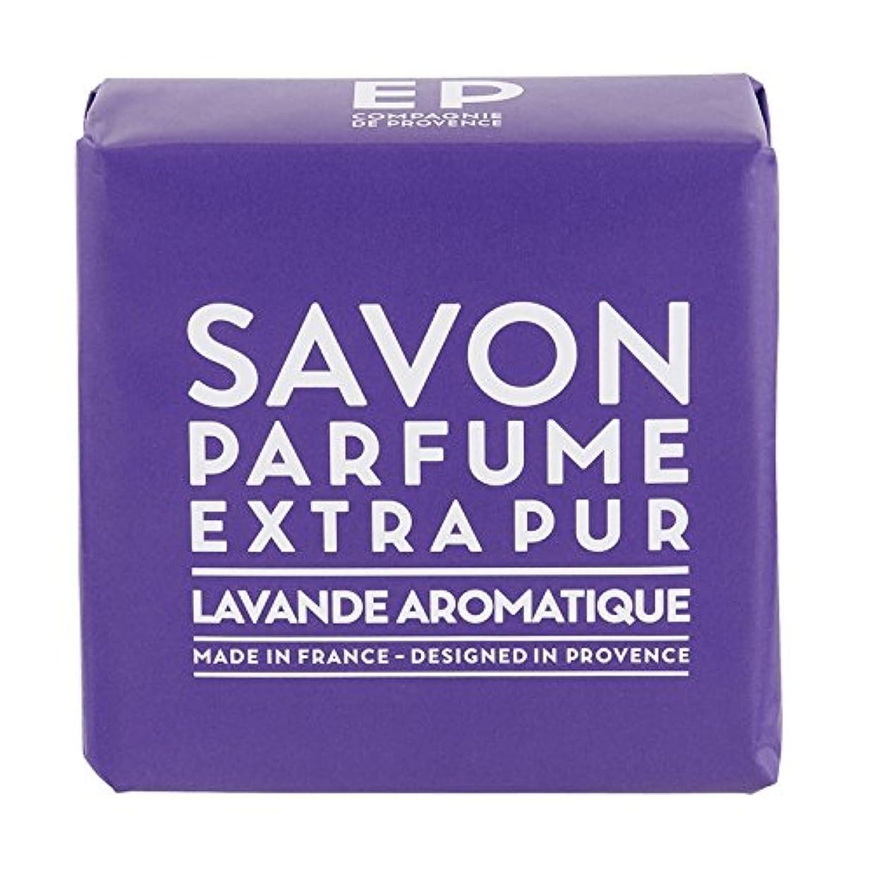 議題強調する媒染剤カンパニードプロバンス EXP  マルセイユソープ ラベンダー 100g(全身用石けん?フランス製?豊かなラベンダーの香り)