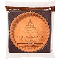 RIBBON クッキートルテ6号/1個 TOMIZ/cuoca(富澤商店) タルトカップ・パイカップ タルトカップ