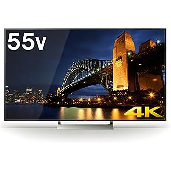 ソニー SONY 55V型 4K対応 液晶 テレビ ブラビア KJ-55X9000E   (2017年モデル)