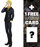 "Sanji: ~10.2"" One Piece King of Artist Figure + 1 FREE Official One Piece Trading Card Bundle (364705)"