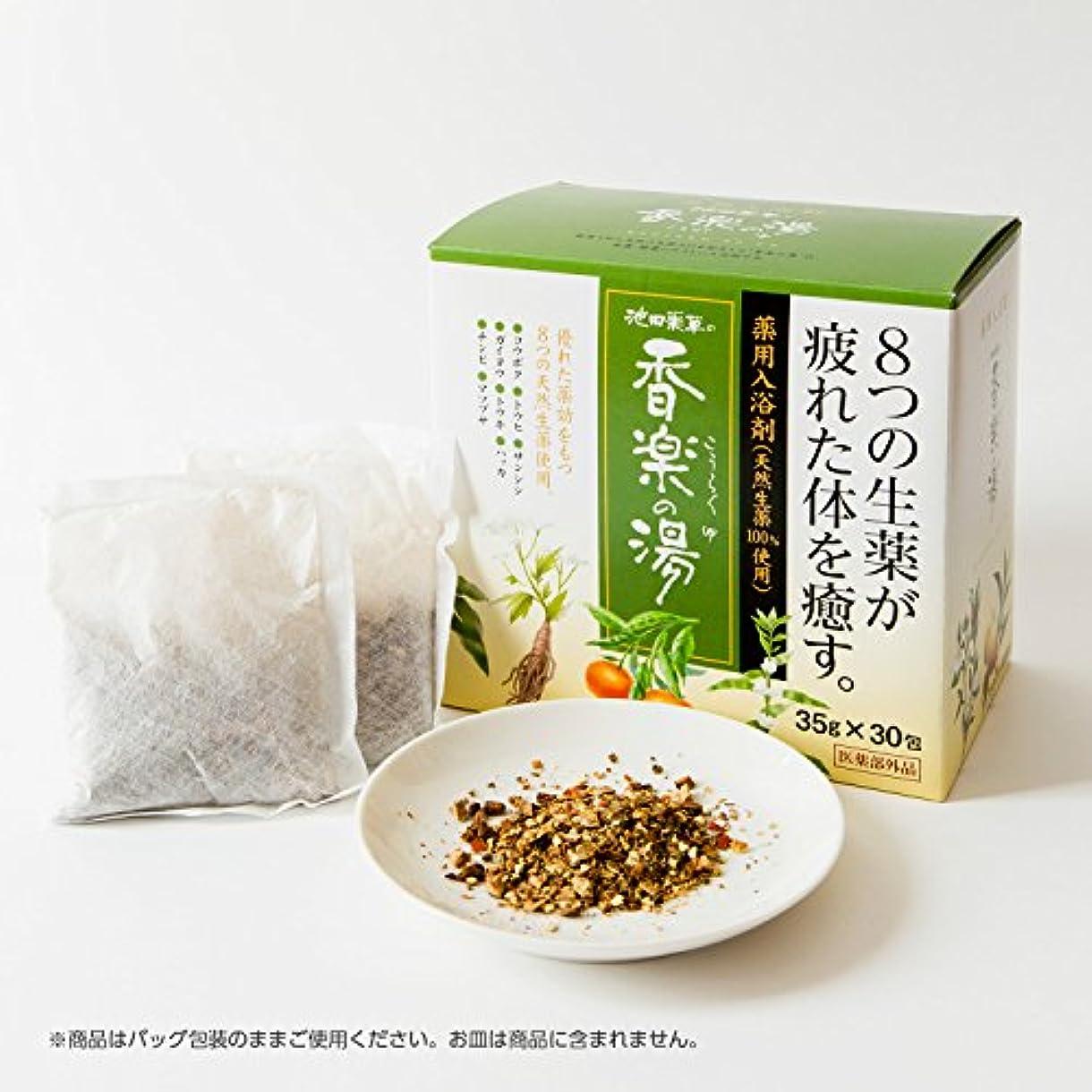 工業化する乳波池田薬草の香楽の湯