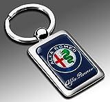 アルファロメオ キー ホルダー キー リング Metal AlfaRomeo Key Ring Holder  [並行輸入品]