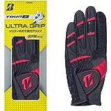 ブリヂストン(BRIDGESTONE) ゴルフグローブ メンズ TOUR B ULTRA GRIP GLG95J GLG95J 全天候型 ゴルフ グローブ 手袋