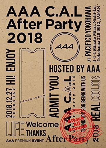 [画像:AAA C.A.L After Party 2018(Blu-ray Disc)]