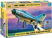 ズベズダ 1/72 ソ連軍 ミグ21 ファントムキラー プラモデル ZV7202