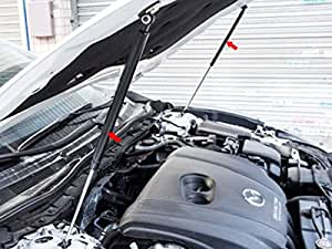 [Accesments] ATENZA アテンザ エンジンルームパーツ ボンネット 高圧ガスダンパー 2P AT119