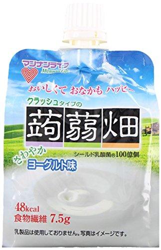 マンナンライフ クラッシュタイプの蒟蒻畑ヨーグルト味 150g×6個