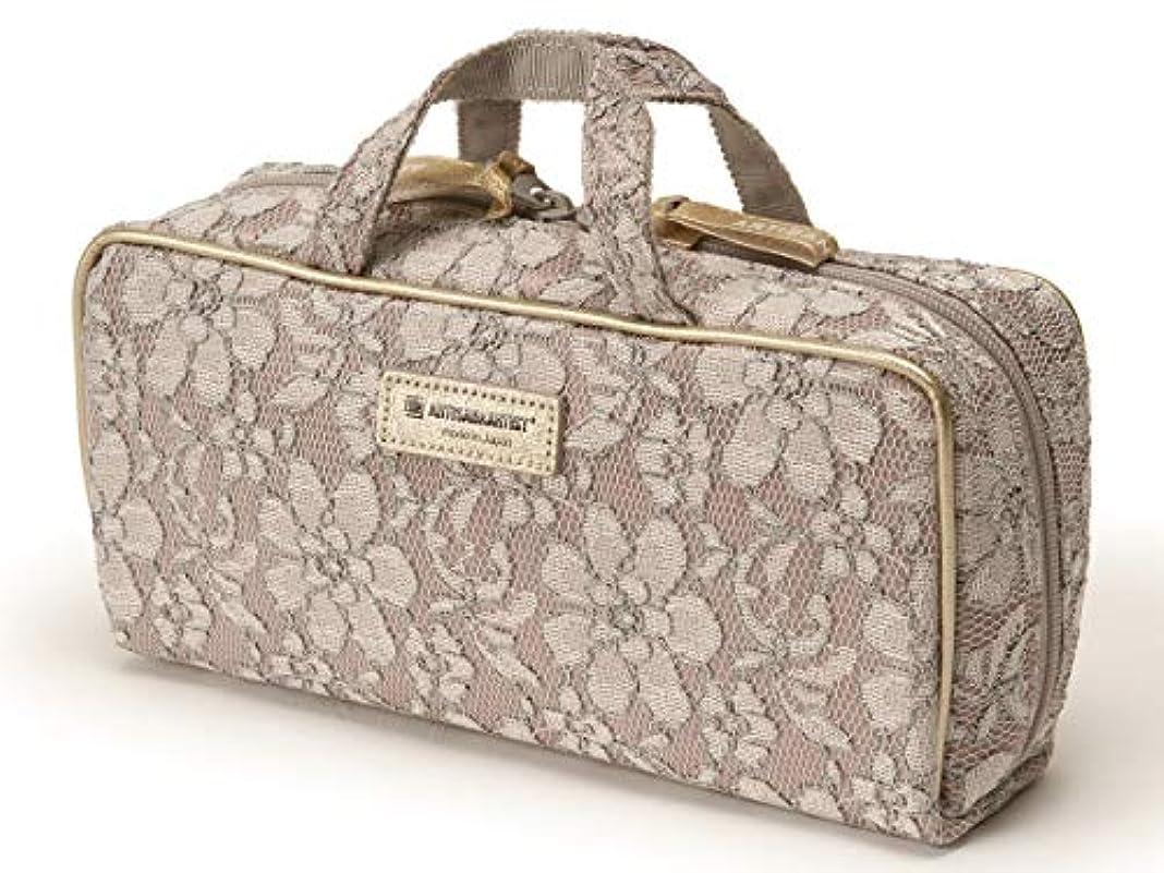 <WEB限定>[アルティザン&アーティスト] ブラシケース付きバッグ型ポーチ<Venetian Garden(ヴェネチアン?ガーデン)> 8OP-WG619 ピンク