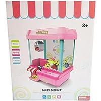 【 Alnair 】 クレーンゲーム お家で簡単 ゲーム おもちゃ ufoキャッチャー 本体 コイン USB (水色)
