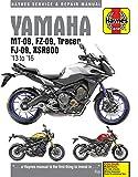 Yamaha MT-09 ('13-'16),  FZ-09 ('14-'16), MT-09TR Tracer ('15-'16), FJ-09 ('15-'16) & XSR900 ('16) (Haynes Motorcycle)