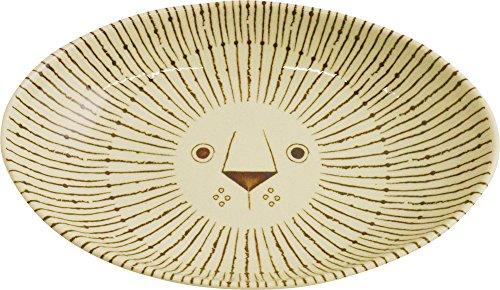 Sugar Land Mikke カレー皿 24×16.4×4.5cm らいおん GO28559