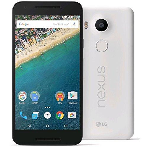 LG Nexus 5X 16GB SIMフリー スマートフォン - ホワイト Quartz White [並行輸入品]