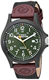 Timex メンズ Expedition Acadia フルサイズ腕時計 Black/Brown/Dark Green