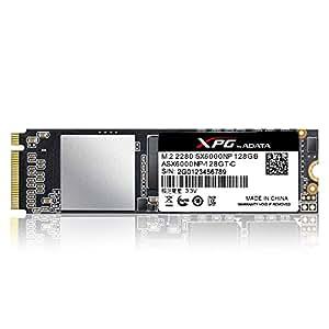 ADATA Technology XPG SX6000 PCIe Gen3x2 M.2 2280 SSD 128GB ASX6000NP-128GT-C