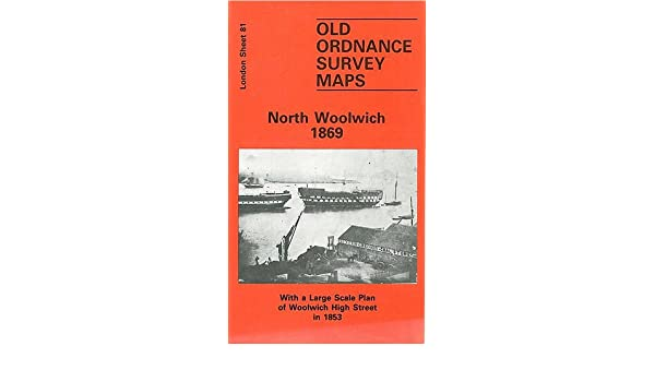 OLD ORDNANCE SURVEY MAPS NORTH WOOLWICH LONDON 1914 SHEET 81