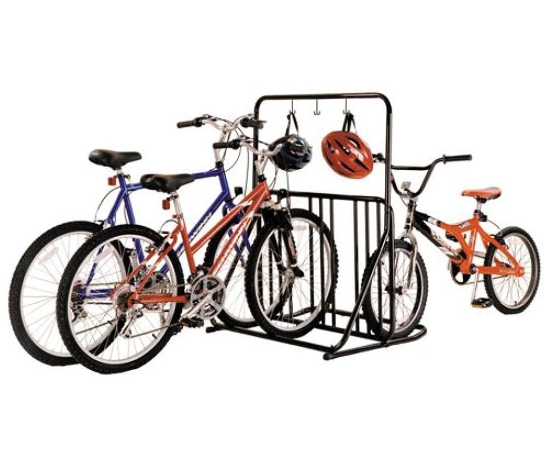 接ぎ木境界機密Gear Up six-on-the-floor 6-bike Support avec barre Accessoire noir Noir