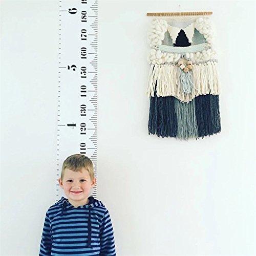 LZROL 身長計 壁掛け式 子どもから大人まで身長198cmまで 子供の成長が見える 測定範囲:194cmまで