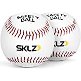 SKLZ Safety Balls 2-Pack Safety Balls 2-Pack, White, 2 Pack