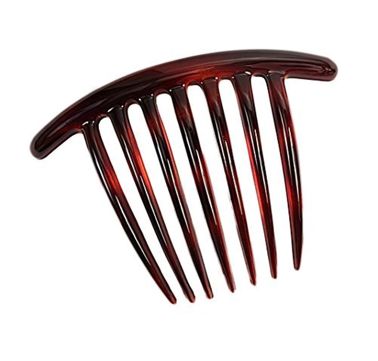 甘やかす仮装発明Caravan French Twist Comb, Tortoise Shell [並行輸入品]