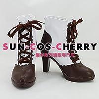 【サイズ選択可】コスプレ靴 ブーツ K-1774 ニキ日記~世界旅行編~ 男性27CM