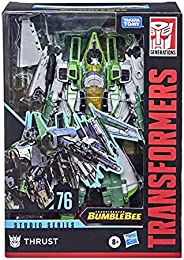 Transformers Toys Studio Series 76 Voyager Class Transformers: Bumblebee Thrust Action Figure - Ages 8 and Up,