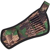 Lixada オックスフォード生地ボウアローホルダーベルト矢印矢筒チューブストラップ狩猟アーチェリーアクセサリー