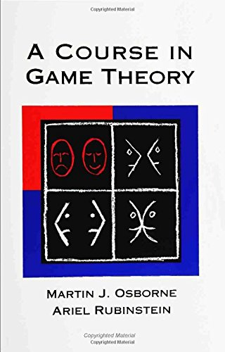 A Course in Game Theory (The MIT Press)の詳細を見る